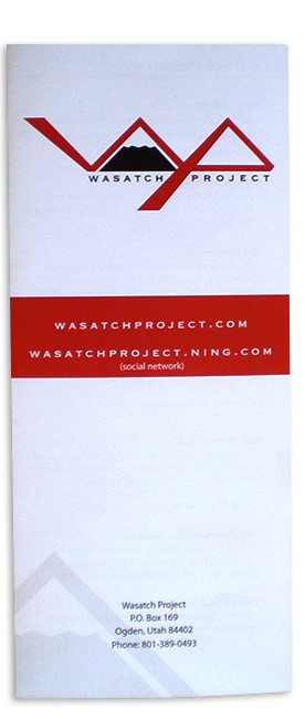 Wasatch Project Brochure Back